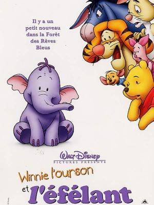 Affiche Winnie l'ourson et l'éfélant