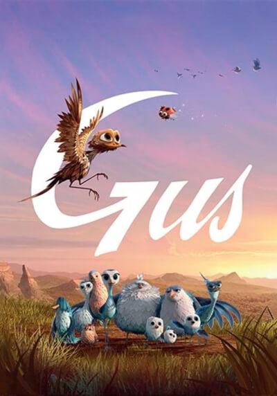 Affiche Gus : Petit oiseau, grand Voyage