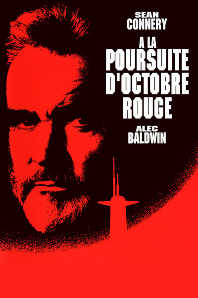 Affiche A la poursuite d'Octobre rouge