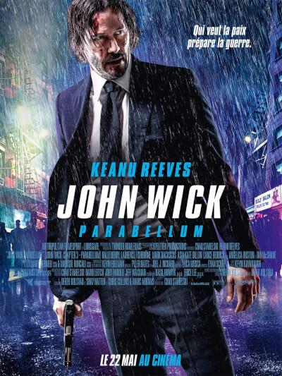 Affiche John Wick Parabellum