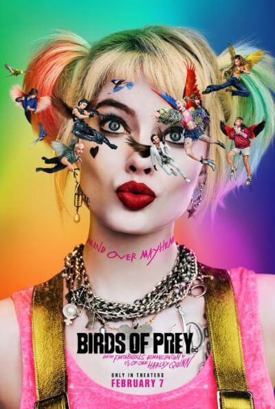 Affiche Birds of Prey et la fantabuleuse histoire de Harley Quinn