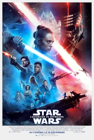 Affiche Star Wars : L'Ascension de Skywalker
