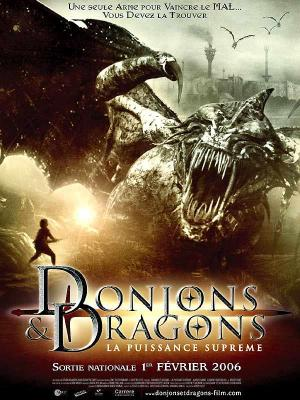 affiche Donjons & dragons, la puissance suprême
