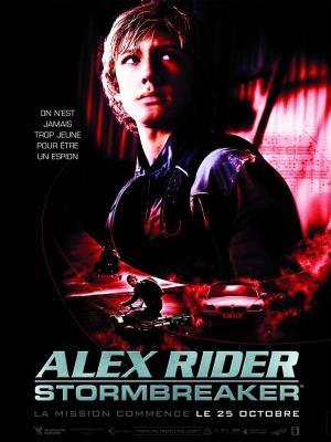 affiche Alex Rider : Stormbreaker
