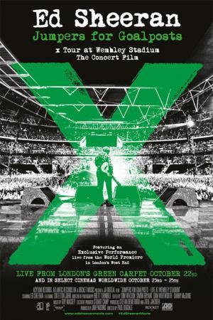 affiche Ed Sheeran - Jumpers for Goalposts