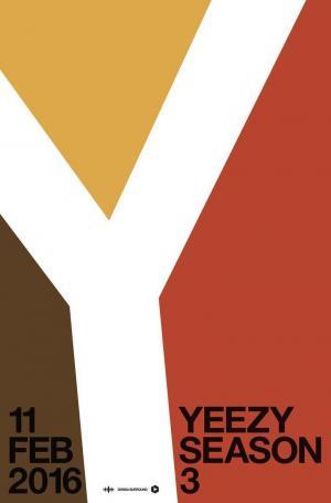 affiche Yeezy Season 3