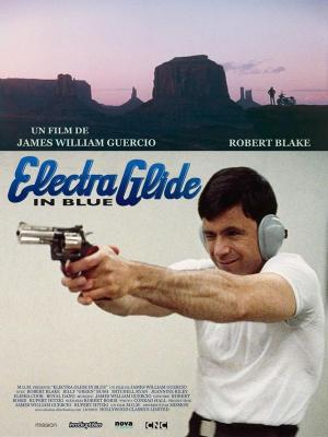 affiche Electra Glide in Blue