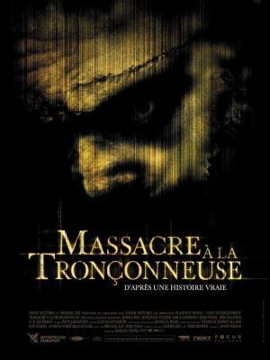 affiche Massacre à la tronçonneuse