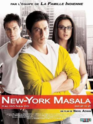 affiche New York masala
