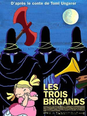 affiche Les Trois brigands