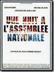 affiche Une nuit à l'Assemblée Nationale