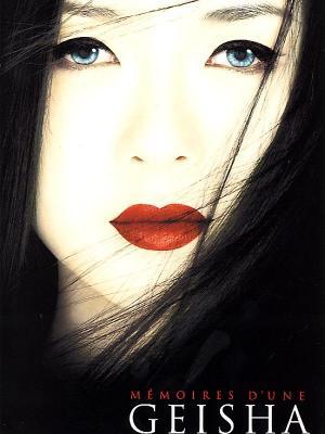 affiche Mémoires d'une geisha