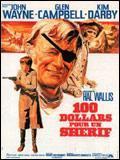 affiche 100 dollars pour un shérif