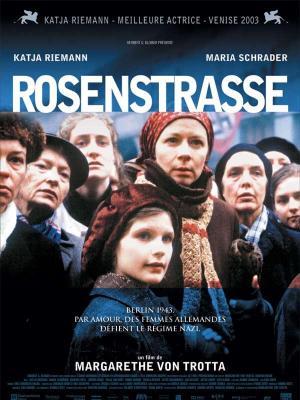 affiche Rosenstrasse