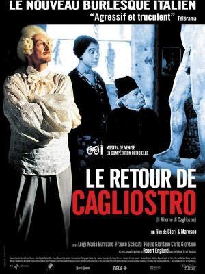 affiche Le Retour de Cagliostro