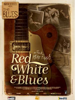 affiche Red, white and blues