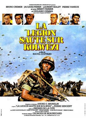 affiche La Légion saute sur Kolwezi
