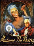 affiche Madame du Barry