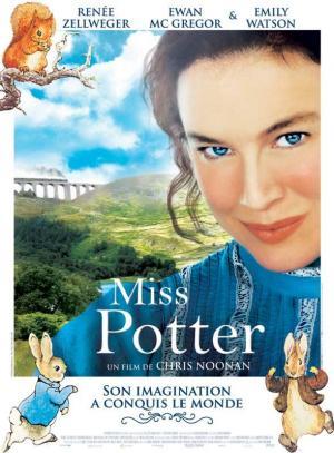 affiche Miss Potter