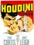 affiche Houdini le grand magicien