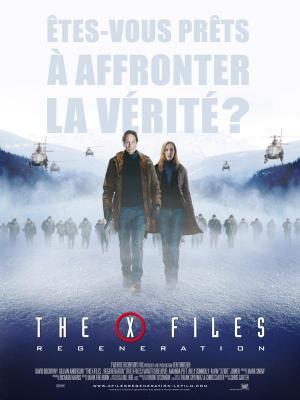 affiche X Files - Régénération