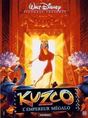 affiche Kuzco, l'empereur mégalo