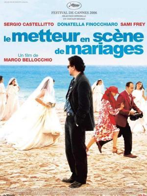 affiche Le Metteur en scène de mariages