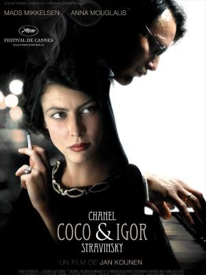 affiche Coco Chanel & Igor Stravinsky