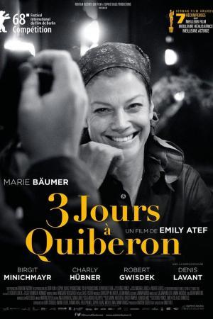 affiche 3 jours à Quiberon