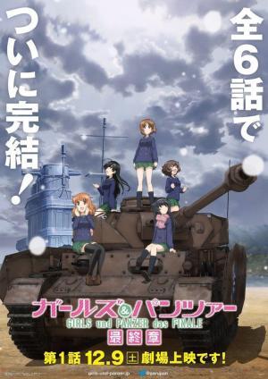 affiche Girls und Panzer das Finale: Part I