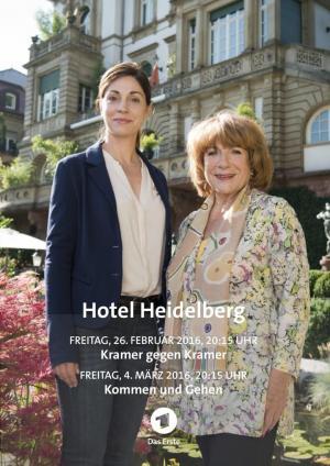 affiche Hotel Heidelberg - Kommen und gehen