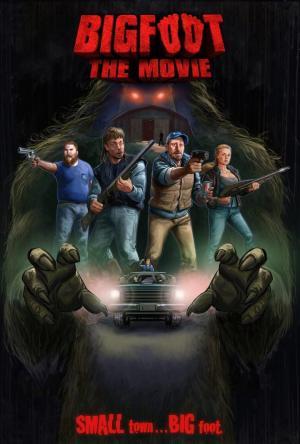 affiche Bigfoot The Movie