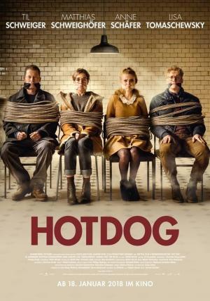 affiche Hot Dog