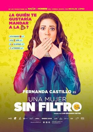 affiche Una Mujer Sin Filtro