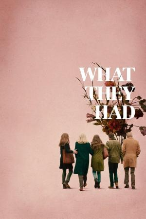 affiche What They Had