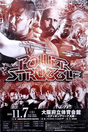 affiche NJPW Power Struggle 2015