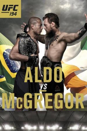 affiche UFC 194: Aldo vs. McGregor