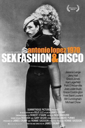 affiche Antonio Lopez 1970: Sex Fashion & Disco