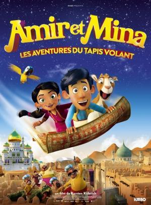 affiche Amir et Mina : Les aventures du tapis volant