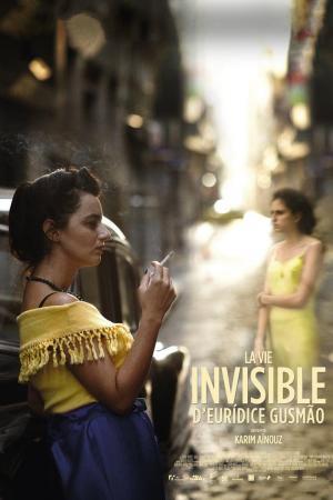 affiche La vie invisible d'Eurídice Gusmão