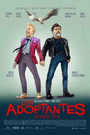 affiche Los adoptantes