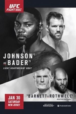 affiche UFC on Fox: Johnson vs. Bader
