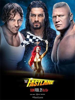 affiche WWE Fastlane 2016