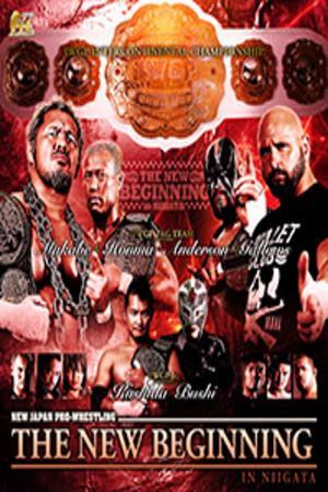 affiche NJPW The New Beginning in Niigata 2016