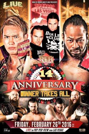 affiche ROH 14th Anniversary