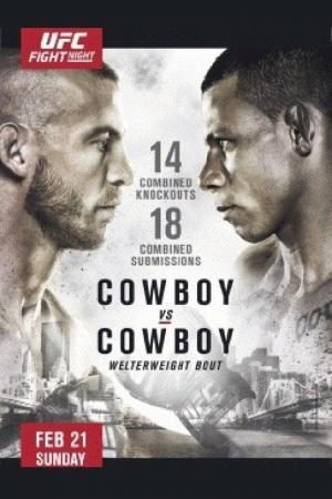 affiche UFC Fight Night 83: Cowboy vs. Cowboy