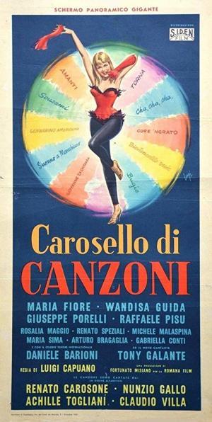 affiche Carosello di canzoni