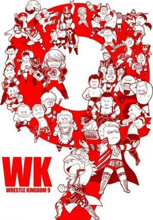 affiche NJPW Wrestle Kingdom 9