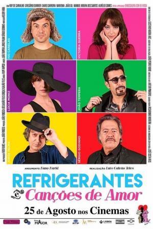 affiche Refrigerantes e Canções de Amor