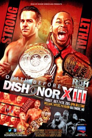 affiche ROH Death Before Dishonor XIII